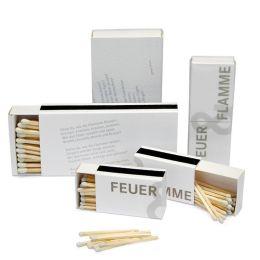 Feuer und Flamme - kleine Streichhölzer oder große Zündhölzer