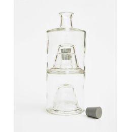 Glasflaschen für Essig & Öl, zum Stapeln