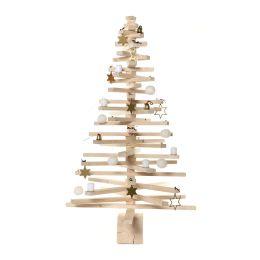 Großer bauMsatz  - Bausatz für einen großen Weihnachtsbaum aus Fichtenlamellen