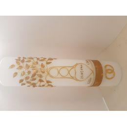 Hochzeitskerze Lebensbaum gold oder siber - Handarbeit, eigene Herstellung