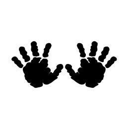 """Motivstempel \\""""Hände\\"""""""
