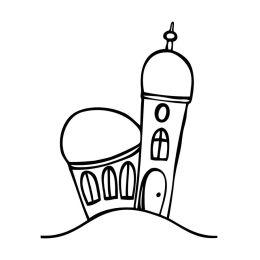 "Motivstempel \\""kleine Kirche\\"""