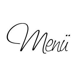 """Stempel """"Menü"""""""