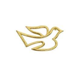Wachs-Taube, gold, silber oder weiß