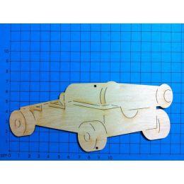 Holz Schiffskanone in unterschiedlichen Größen 60mm - 160mm