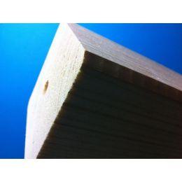 Holzsäule passend, mit Loch