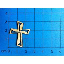 Kreuz mit Ausschnitt 30 - 80mm