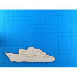 Kreuzfahrtschiff aus Holz 50mm -