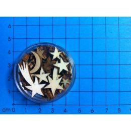 Sterne Sortiment in Dose