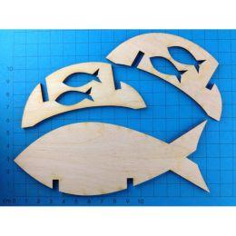 Vasenhalter Fisch