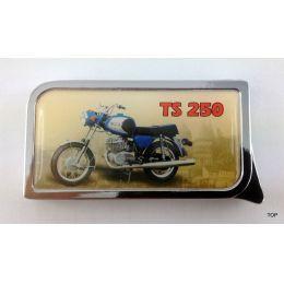 Colton Gasfeuerzeug mit hochwertiger Doming-Beschichtung TS 250