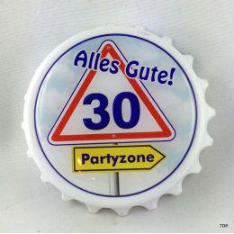 Kapselheber  Flaschenöffner mit Magnet Alles Gute 30 Geburtstag Geschenkidee Top!!!