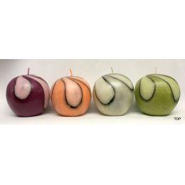 Kerzen in Form eines Apfels Handfertigung flambiert