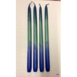 Kerzen Regenbogenkerze Höhe 31 cm 4 Stück in den Farben des Regenbogens Nr. 88-B