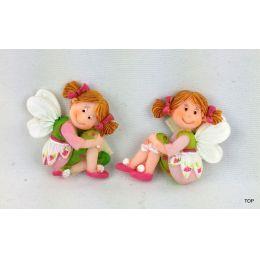 Kleine Fee Blütenfee Feenwelt mit Magnet  Geschenk für die kleinen Prinzessinnen