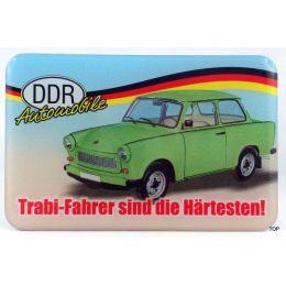 Magnet Kühlschrankmagnet Spruch Trabifahrer Ostprodukt Ossi Sachsen Geschenkidee DDR Autobesitzer