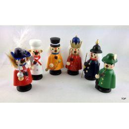 Mini Räuchermann Räuchermännchen Räucherfigur sechs verschiedene Figuren Weihnachten Weihnachtsdekoration Deko