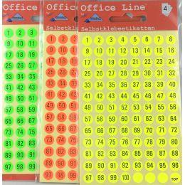 Zahlen Zahlenetiketten Runde Etiketten Schriftgröße 5 mm Klebesticker Selbstklebend Aufkleber