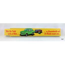 Zollstock Trabi-Motiv  bedruckt Ostalgie Sachsen sächsisch Gliedermaßstab 2m DDR Ostprodukte