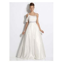 Brautkleid, Mode von Heine, 34, farbe creme