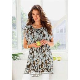 Kleid, Chillytime, 32, farbe khaki print