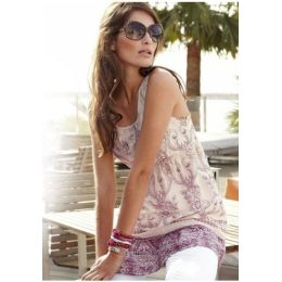 Longtop Aniston, 36, 38, 40, farbe sand-lavendel
