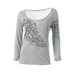 Shirt, Linea TESINI, 34, 36, farbe graumelange