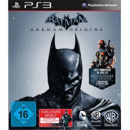Batman Arkham Origins PS-3 D1 inkl Deathstroke Pack
