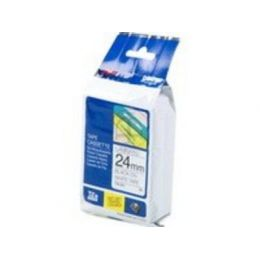 BROTHER TZE251 Schriftbandkassette 24mm8m weiss/schwarz P-touch 300/500/2400series