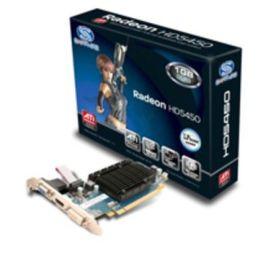 Grafikkarte ATI RADEON HD5450 / ATI RADEON HD 5450/ 1GB / GDDR3 / PCIe / HDMI / DVI-I / VGA / LR