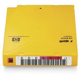 HP 20x LTO3 Ultrium Data Cartridge 800GB Non-Custom Labelled