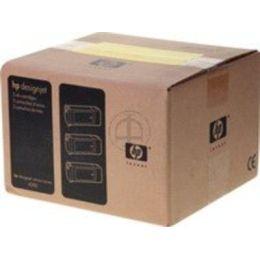 HP 90 Tintenpatronen magenta (400 ml) (3er-Packung)