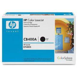 HP Toner CB400A / schwarz / bis zu 7500 Seiten / für Color LaserJet CP4005