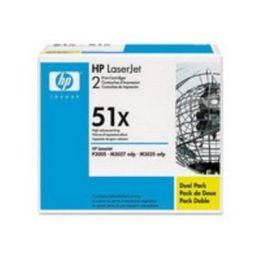 HP Toner Q7551XD / schwarz / Dual / bis zu 13.000 Seiten / für LaserJet P3005