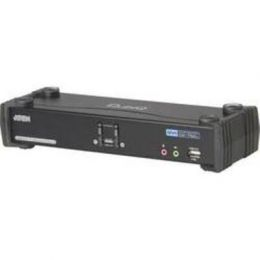 KVM Aten CS1782A KVM Switch 2x DVI 7.1 Audio USB