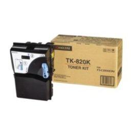 Kyocera Toner / TK-820K / schwarz / 15.000 Seiten / bei 5% Tonerdeckung / FS-C8100DN