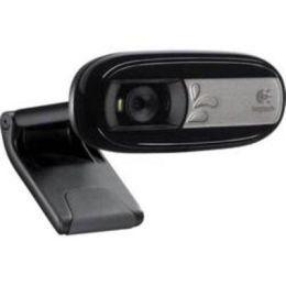 Logitech Webcam / Webcam C170 / USB / Fotos bis zu 5 Megapixel / Videogespräche / Integriertes Mikrofon