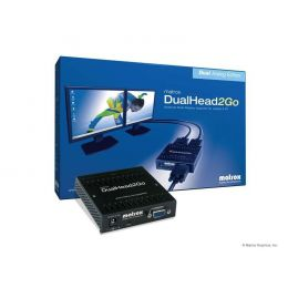 Matrox DualHead 2 Go analog USB
