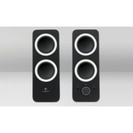 Soundboxen Logitech Z200 schwarz, 2.0 System