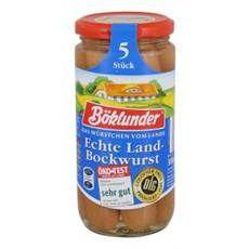 Böklunder Echte Landbockwurst 5 x 50 g