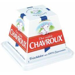 Chavroux Frischkäse natur 45% Fett i. Tr. aus 100% Ziegenmilch 150 g