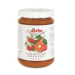 Darbo Konfitüre Naturrein Sanddorn Orange Fruchtgehalt 50% 450 g