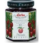 Darbo Naturrein Fruchtaufstrich feine Weichsel 70% Früchte