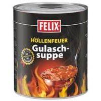 Felix Höllenfeuer Gulaschsuppe 2900g