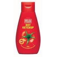 Felix Hot Ketchup 450g