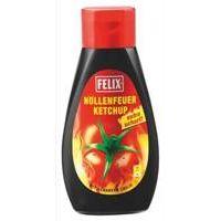 Felix Ketchup Höllenfeuer 450g - extra scharf