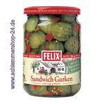 Felix Sandwich Gurken würzig-pikant mit Bauernhofgarantie