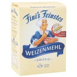 Fini´s Feinstes Weizenmehl T480 1kg, griffig