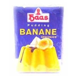 Haas Pudding Banane - Geschmack