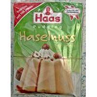 Haas Pudding Haselnuß-Geschmack